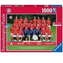 "Ravensburger 196487 - Puzzle FC Bayern Munich Saison 2016/2017"" 1000 Piè... - $18.44"