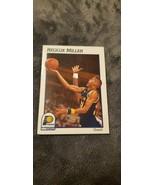 1991-92 HOOPS INDIANA PACERS BASKETBALL CARD #84 REGGIE MILLER - $5.00