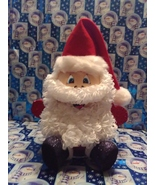 Handmade Glass Christmas Santa Claus - $42.65