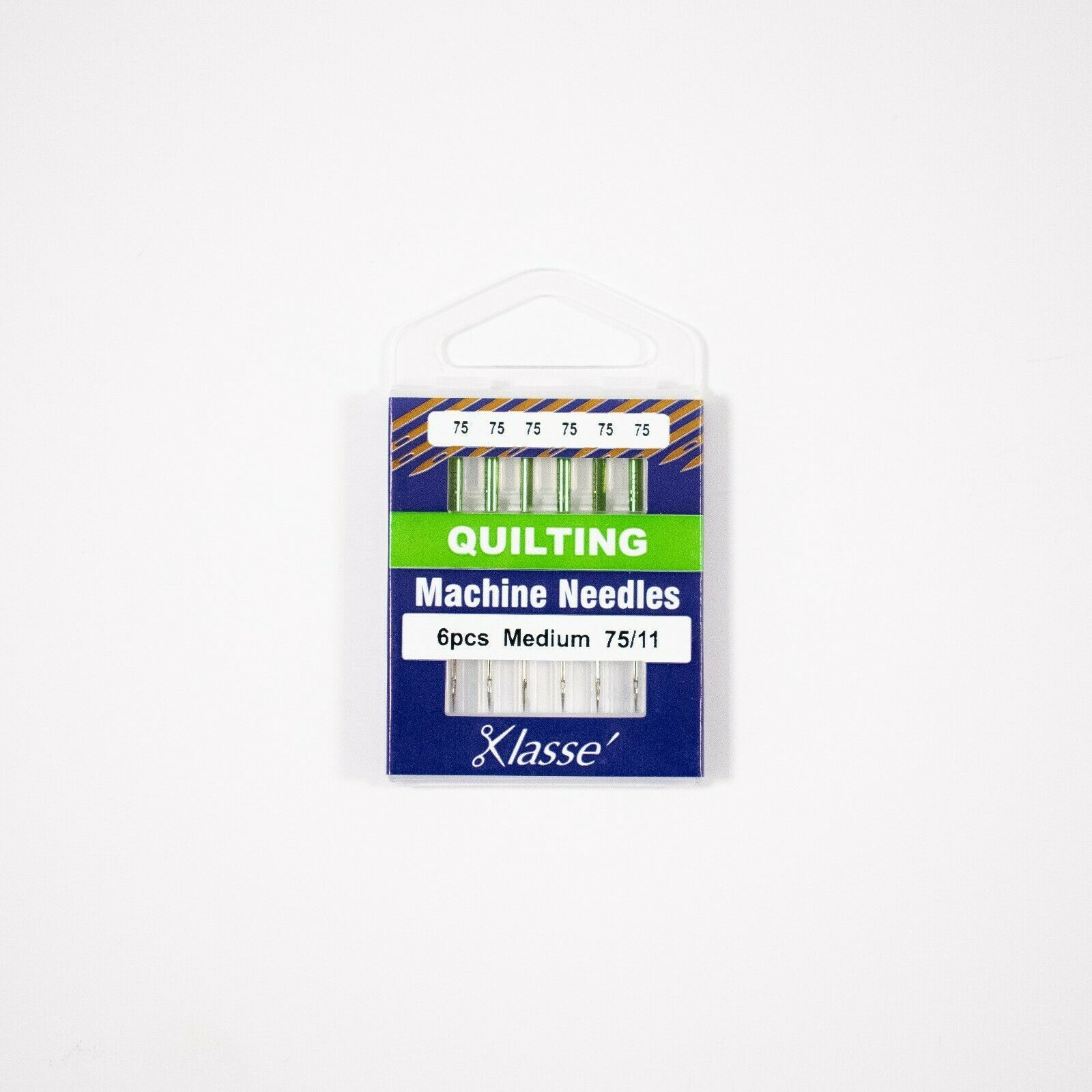 Klasse Quilting 75/11, 6 Needles, Bundle of  30 Needles - $12.86