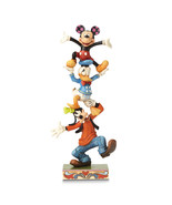 Non Metal Disney Traditions Goofy, Donald And Mickey Figurine (Length=3.... - $66.91