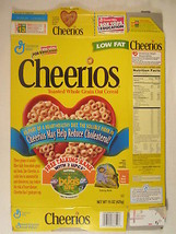 MT General Mills Cereal Box CHEERIOS 1998 15oz A BUG'S LIFE Ant Maze [G7... - $10.83