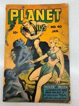Planet Comics #40 Golden Age Fiction House Jan 1946 Mysta of the Moon - $199.99