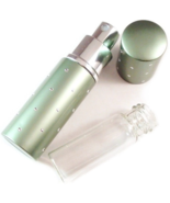 Travel Purse Spray Fragrance Perfume Atomizer Refillable Sage Green Dots NIB - $14.99