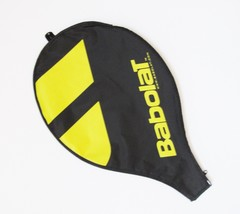 Babolat Racquet Headcovers Small Black & Yellow Zip Closure NEW - $9.89