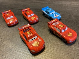Disney Pixar Cars Lot Of 5 Lightning McQueens - $19.59