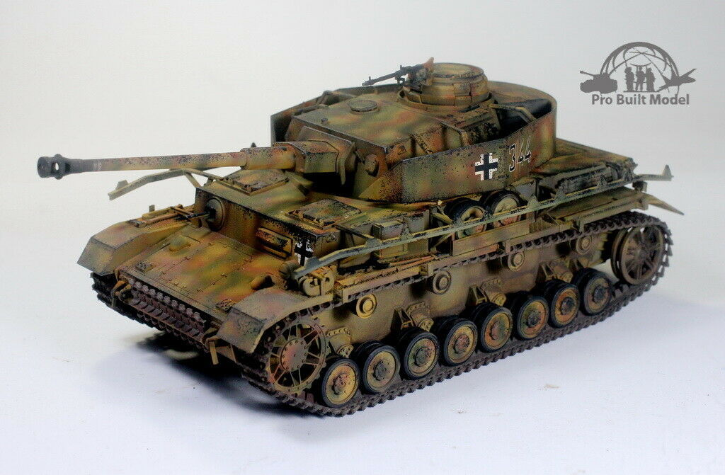Primary image for Panzerkampfwagen IV Ausf. J Sd.Kfz. 161/2 WWII 1:35 Pro Built Model