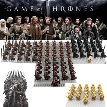 21pcs Game of Thrones House Stark Kingsguard The Unsullied Army Lego Minifigures - $27.99+