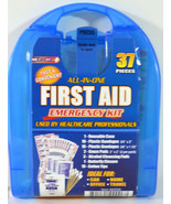ALL-IN-ONE 37 PC FIRST AID EMERGENCY KIT - $8.99