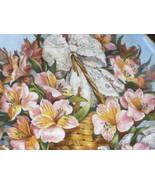 Rare FRANKLIN MINT Gracia Alstroemeria AZALEA Plate Katherine Austen Lim... - $24.95