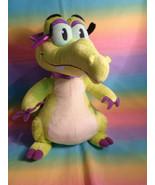 "Disney Parks Where's My Water Green Swampy Allie Alligator Animal Plush 12"" - $10.15"