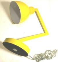 "2018 Yellow Portable Luminaire 18"" LED Desk Table Lamp Model No. GF-205 - $74.25"