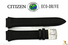 Citizen Eco-Drive 4-S049407 Original 24mm Black Leather Watch Band 4-S061458 - $89.95