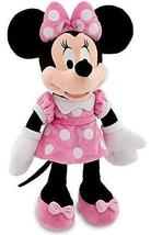 "Disney 18"" Minnie Mouse in Pink Dress Plush Doll - $47.98"