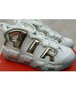 Nike Women's Air More Uptempo 'Chrome' White Blue Tint Shoes 917593-100 ... - $168.29