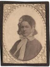 Elvira Small Sargent Randall Antique Photo - Born 1839, Portland, Maine - $17.50