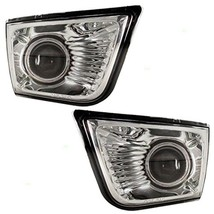 Fits 03-05 Toyota 4Runner Left & Right Fog Lamp Assemblies Bumper Mounte... - $69.95