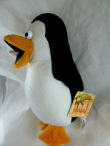 "Penguin Madagascar Nanco Dreamworks 10"" Plush Toy Mint with tags - $11.87"