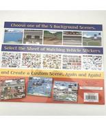 NEW Melissa & Doug Reusable Sticker Pad Vehicles 5 Scenes 165 stickers - $10.88