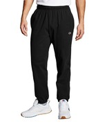 NEW MENS CHAMPION BLACK JERSEY BANDED BOTTOM PANTS L - $24.74