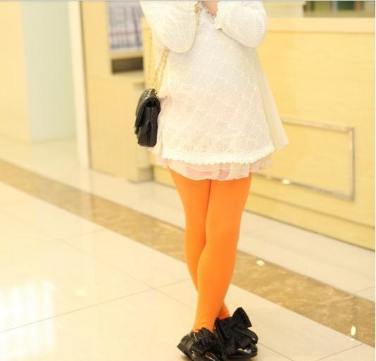 Girls Tights, Leggings, 1Pair Toddler Velvet Stretch stockings Color 5-12T