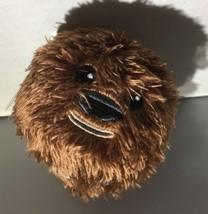 Hallmark Star Wars Fluffballs Chewbacca Christmas Ornament Decor Plush New - $3.96