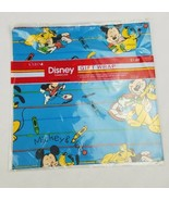 Vintage Cleo Disney's Mickey Mouse Pluto gift wrap paper sealed 2 sheets - $12.46