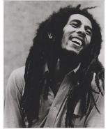 Bob Marley Smile Vintage 5X7 BW Reggae Music Memorabilia BW Photo - $3.95