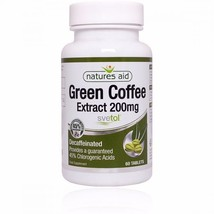 Natures Aid Green Coffee Extract 200mg (Svetol) 60 Tabs - 2 Pack - $57.19