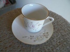 Johann Haviland Dawn Rose cup and saucer 4 available - $4.16