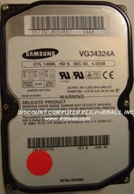 Samsung VG34324A 4.3GB 3.5IN IDE Drive Tested Good Free USA Shipping