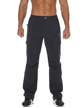 Nonwe Men's Quick Dry Water-Resistant Hiking Camping Pants (32W x 34L|Gray) - $63.33