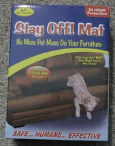 Pet Parade Stay Off Mat Sonic Repellent for Dogs and Cats - $27.35 CAD
