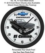 1966 Chevrolet El Camino Wall Clock-Free US Ship-New! - $27.71+