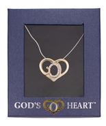 GOD'S HEART PENDANT - $21.14 CAD