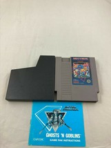 Ghosts n Goblins, Game w Manual & OEM Dust Sleeve, Nintendo Entertainment System - $24.99