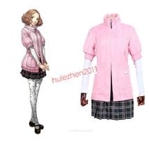 Game Persona5 Cosplay Costume Persona 5 Haru Okumura Uniform Dress Hallo... - $70.99