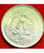 1944 Mexico 50 centavos Silver Coin Very Nice!! - $8.85