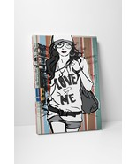 "Love Me Fashion Wall Art Gallery Wrapped Canvas Print. 30""x20"" or 20""x16"" - $42.52 - $52.42"