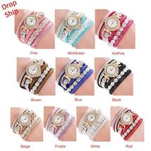 Fashion Women Leather Watch Whatever I am Late Anyway Letter Watches - $8.10+