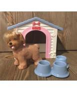Fisher Price Loving Family Dollhouse Puppy Playtime Retired Dog Pet Dog ... - $14.99