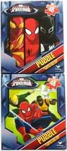 Marvel Ultimate Spiderman Puzzles (Set of 2) Luke Cage, Iron Fist, Nova (48 Pc) - $14.84