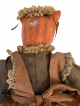 "Vintage Michael Berger Figure Figurine Art Sculpture Orange Cat Doll 21"" image 11"
