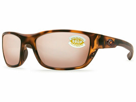 Costa Del Mar WHITETIP Retro Tortoise / Silver Copper 580 Plastic - NEW ... - $108.90