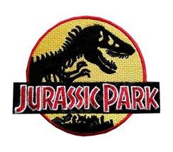 Athena Jurassic Park Logo Embroidered Iron/Sew-on Applique Patches - $6.90