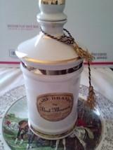 Paul Masson Ceramic Rare Brandy Flask Bottle Spirit. Empty, Original, St... - $29.99
