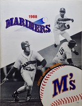 1988 - MLB - Seattle Mariners - Cactus League Baseball - M's -  Program - $14.99