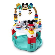 Disney Baby MICKEY MOUSE Camping with Friends Activity Saucer - $84.22
