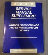 2002 Chrysler Dodge Intrepid Police Package LH Wiring Service Repair Manual  - $14.84
