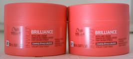 Wella Professionals Brilliance Invigo Mask for Coarse Hair 5.07oz (2 pack) - $25.73